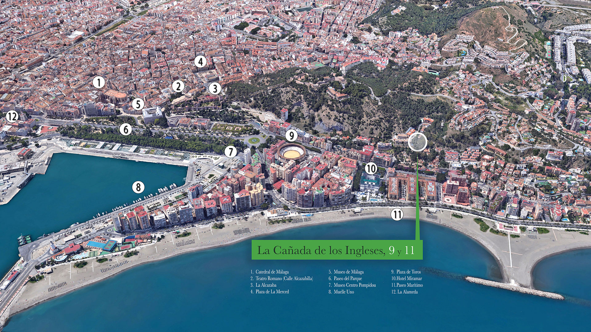 Vista aérea 2 donde se ubica la promoción La Ca 9 y 11