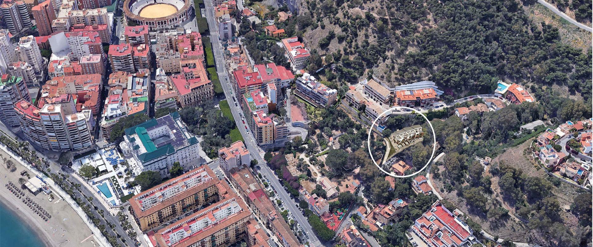 Una promoción exclusiva en Málaga, en pleno barrio de la Malagueta